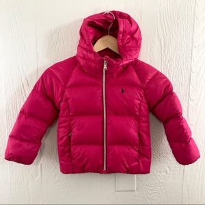 Polo Ralph Lauren Down Filled Puffer Jacket